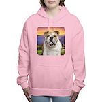 Bulldog Meadow Women's Hooded Sweatshirt
