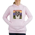 Pit Bull Meadow Women's Hooded Sweatshirt