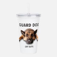 Guard Dog Acrylic Double-wall Tumbler