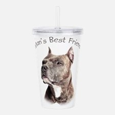 Mans Best Friend Acrylic Double-wall Tumbler