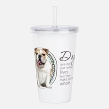 wholelives.png Acrylic Double-wall Tumbler