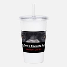 security.png Acrylic Double-wall Tumbler