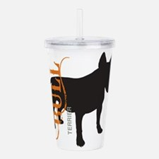 grungesilhouette.png Acrylic Double-wall Tumbler