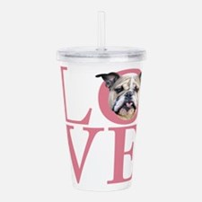 love.png Acrylic Double-wall Tumbler
