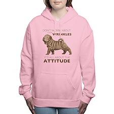 attitude.png Women's Hooded Sweatshirt