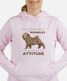 attitude.png Women's Hooded Sweatshirt