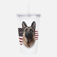 usa.png Acrylic Double-wall Tumbler