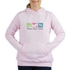 peacedogs.png Women's Hooded Sweatshirt