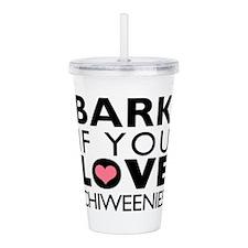BARK.png Acrylic Double-wall Tumbler