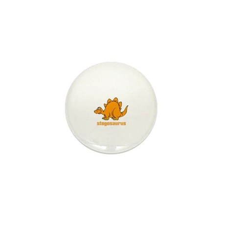 Cute Stegosaurus Mini Button (100 pack)