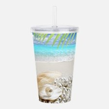 Pearls Acrylic Double-wall Tumbler