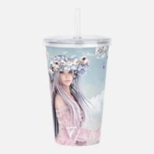 Fairytale Girl Acrylic Double-wall Tumbler