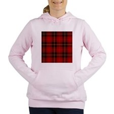 Tartan Plaid Women's Hooded Sweatshirt