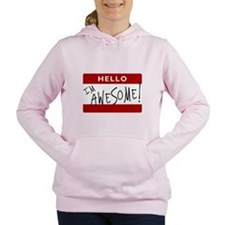awesome.png Women's Hooded Sweatshirt