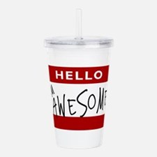 awesome.png Acrylic Double-wall Tumbler