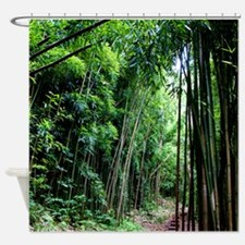 Bamboo Forest Hawaii Tropical Shower Curtain