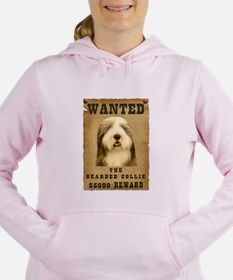 17-Wanted _V2.png Women's Hooded Sweatshirt