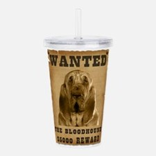 19-Wanted _V2.png Acrylic Double-wall Tumbler
