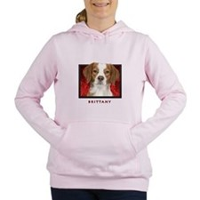 14-redblock.png Women's Hooded Sweatshirt