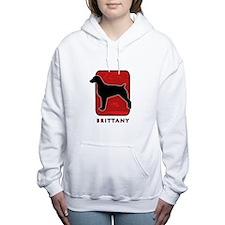 25-redsilhouette.png Women's Hooded Sweatshirt