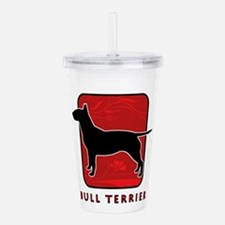 27-redsilhouette.png Acrylic Double-wall Tumbler