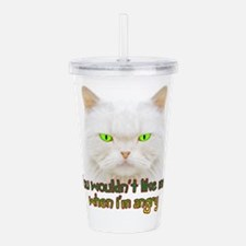 Hulk Kitty Acrylic Double-wall Tumbler