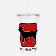 redsilhouette2.png Acrylic Double-wall Tumbler