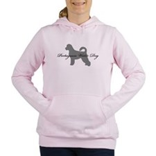 19-greysilhouette2.png Women's Hooded Sweatshirt