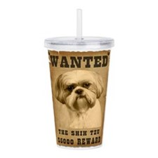 2-Wanted _V2.png Acrylic Double-wall Tumbler