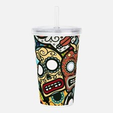 Unique Zombies Acrylic Double-wall Tumbler