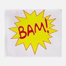 BAM! Throw Blanket