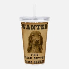 23-Wanted _V2.png Acrylic Double-wall Tumbler