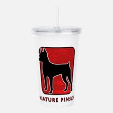 4-redsilhouette.png Acrylic Double-wall Tumbler