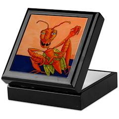 Weed Hopper Keepsake Box