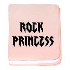 Rock Princess baby blanket