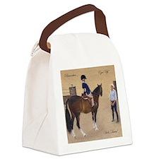 Unique Equestrian art Canvas Lunch Bag