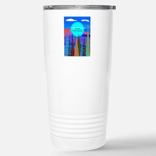 Retired Social Worker 1 Travel Mug