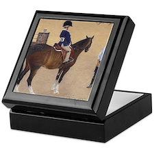 Cute Horse trainer Keepsake Box