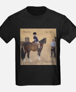 Eyes Up, Heels Down Horse T-Shirt