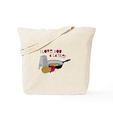 I Love You A Latke! Tote Bag