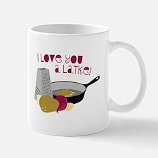 I Love You A Latke! Mugs