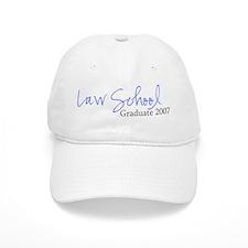 Law School Graduate 2007 (Blue Script) Baseball Cap