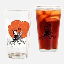 Wizard of Oz - Poppy Field Escape Drinking Glass