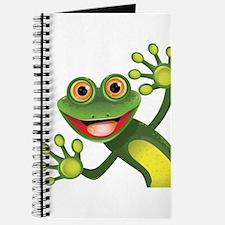 Happy Green Frog Journal