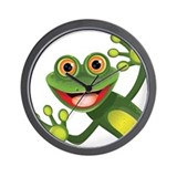 Frog Wall Clocks