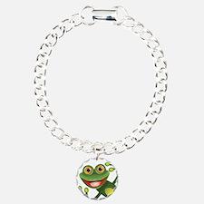Happy Green Frog Bracelet