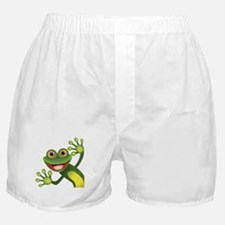 Happy Green Frog Boxer Shorts