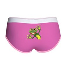 Happy Green Frog Women's Boy Brief