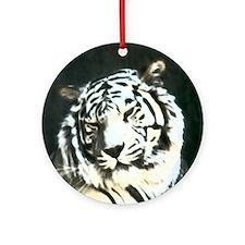 tiger back lit Ornament (Round)