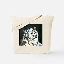 tiger back lit Tote Bag